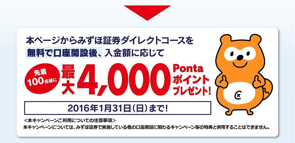 2015年1月31日まで!先着100名様キャンペーン